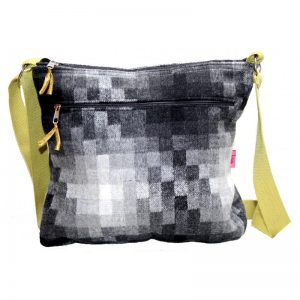 Ombre Check Large Messenger Bag