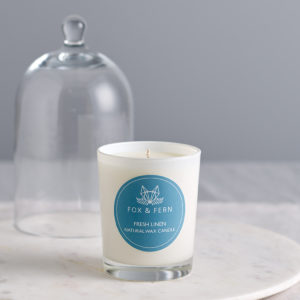 Fresh Linen Natural Wax Candle