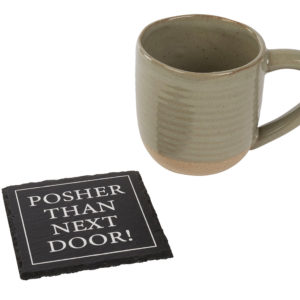 Posher than next door coaster