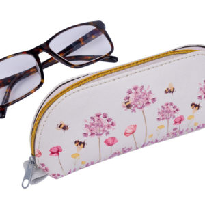Bee Floral Glasses Case