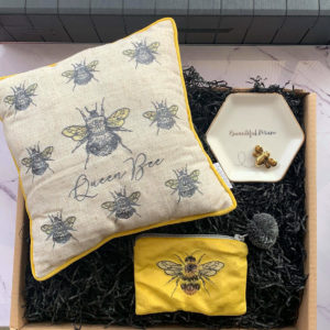Queen Bee Gift Box by Corzo and Wood