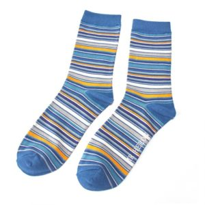 Stripe Socks (Denim) Mr Heron