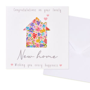 Congratulation on your new home card