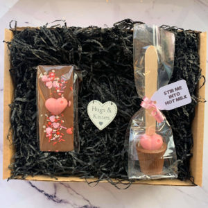 Sweet Hugs and Kisses Gift Box by Corzo and Wood