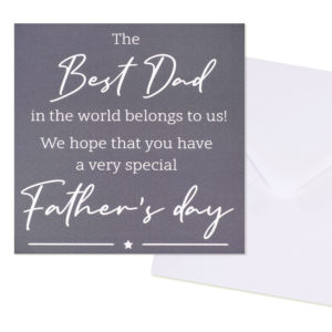 Best Dad Card - Corzo and Wood