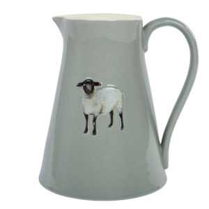Large Embossed Sheep Jug - Corzo and Wood