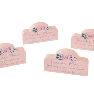 Mini Mum quote blocks - Corzo and Wood