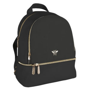 Alice Wheeler Black Backpack - Corzo and Wood