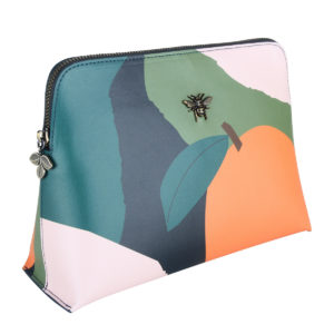 Alice Wheeler Multi-coloured Square Beauty Case