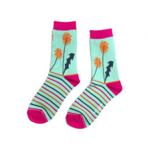Dandelion Print Socks - Corzo and Wood
