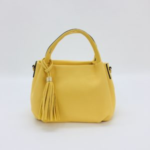 Small Balloon Soft Bag in Yellow - Corzo and Wood