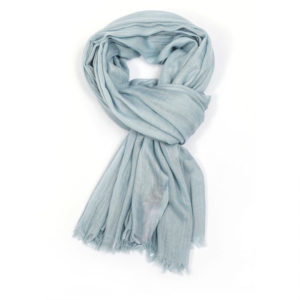 Soft Plain Duck Egg Scarf - Corzo and Wood