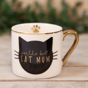 Cat Mum Mug - Sold by Corzo and Wood