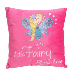 Little Fairy Sleeps Here Cushion - Sold by Corzo and Wood
