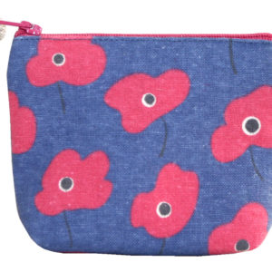 Mini Purse - Poppy Design - Sold by Corzo and Wood