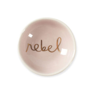 Rebel Round Stoneware Dish - Sold by Corzo and Wood
