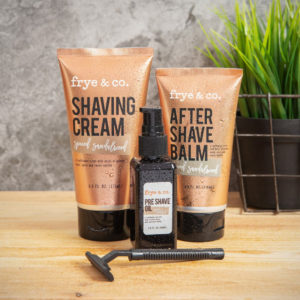 Shaving Set For Men - Sold by Corzo and Wood